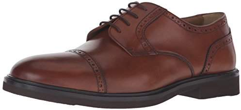 ed662a6256b05 Florsheim Brown Cap Toe Oxford Men s Shoes
