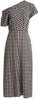 Rachel Comey Gingham one-shoulder dress
