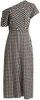 Rachel Comey Gingham one-shoulder dress