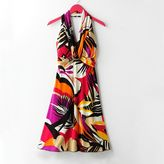 My Michelle Tropical Floral Halter Dress