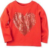 Carter's Sequin-Heart Top, Little Girls (2-6X)
