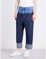 Vivienne Westwood Samurai Cropped Mid-rise Jeans