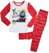 Thomas & Friends Tv's Toy Box TV's Toy Box Boys' Sleep Bottoms Red Personalized Pajamas - Toddler & Boys