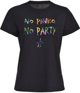 Pinko No Pinko, No Party t-shirt