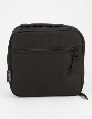 JanSport Lunch Break Black Lunch Box