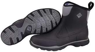 Muck Boots Men's Excursion Pro Mid Wellington Boots, (Black/Gunmetal), 41 EU