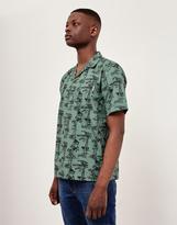 Carhartt WIP Short Sleeve Pine Hawaii Shirt Green