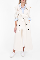 Acne Studios Lucie Twill Trench Coat