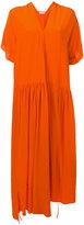 Christian Wijnants crepe asymmetric dress - women - Silk Crepe - 34