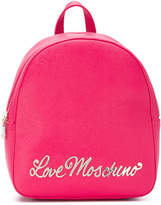 Love Moschino slogan backpack