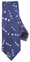 Drakes Drake's Black & White Dot Tie