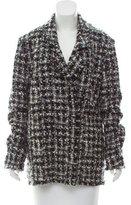 Lanvin Bouclé Wool Coat