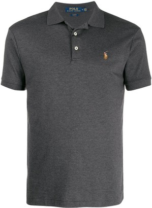 Polo Ralph Lauren Fitted Embroidered Logo Polo Shirt