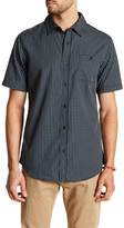 Burnside Novelty Checked Short Sleeve Regular Fit Shirt