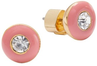 Kate Spade Candy Drops Ename Round Stud Earrings