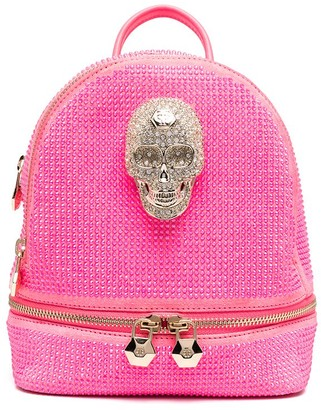 Philipp Plein Crystal-Embellished Backpack
