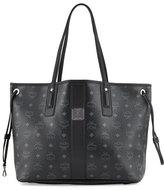 MCM Liz Reversible Medium Shopper Tote Bag, Black