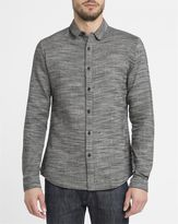 Revolution Charcoal 3537 Linen Blend Textured Shirt