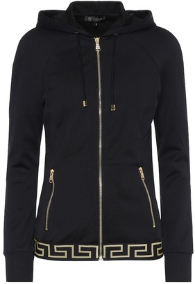 Versace Cotton-blend hoodie