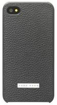 Hugo Boss Sine i Phone 4 Embossed Leather Cell Phone Case One Size Black