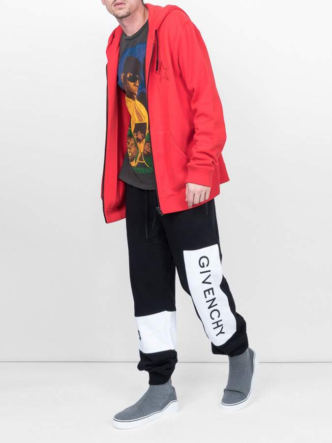 Givenchy Logo-patch track trousers