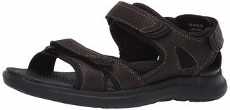 Nunn Bush Men's Rio Vista 3 Strap River Sandal Water Shoe