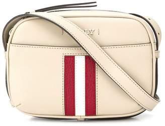Bally Symo striped-insert cross-body bag