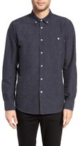 Obey Hadley Slim Fit Nep Flannel Woven Shirt