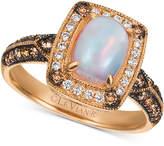 LeVian Le Vian Chocolatier Neopolitan Opal (5/8 ct. t.w.) & Diamond (3/8 ct. t.w.) Ring in 14k Rose Gold