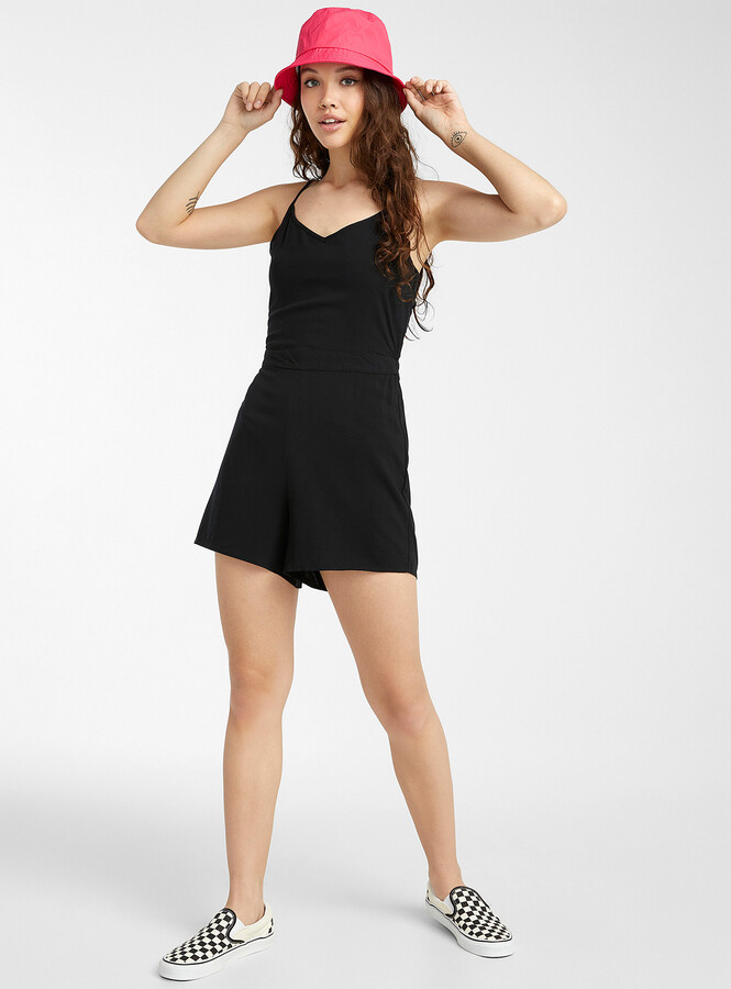 Thumbnail for your product : Only Open bow-back romper
