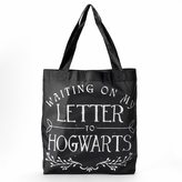 """Harry Potter """"Letter to Hogwarts"""" Packable Tote"""