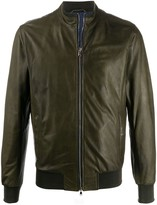 Barba Tuscany high collar jacket