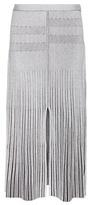 Proenza Schouler Wool-blend Ribbed Midi Skirt
