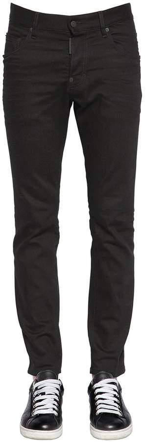 DSQUARED2 16cm Skater Jean Cotton Denim Jeans