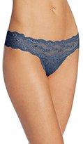 B.Tempt'd Women's Lace Kiss Thong Panty