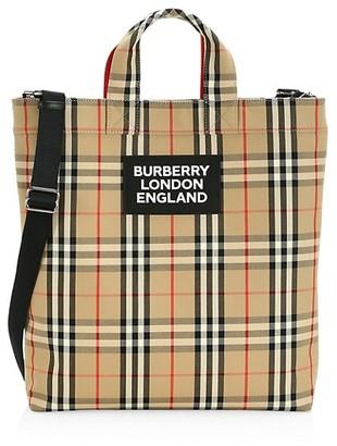 Burberry Artie Vintage Check Tote