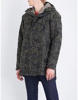 C.P. Company Camouflage jacquard parka jacket