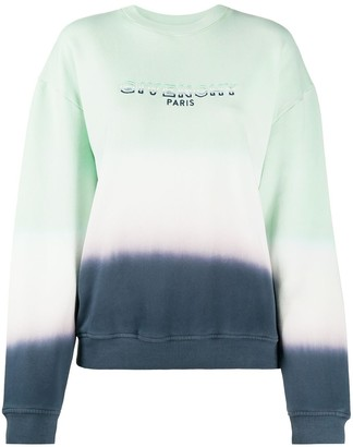 Givenchy Colour-Block Embroidered Logo Sweatshirt