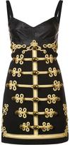 Dolce & Gabbana military button dress - women - Silk/Polyamide/Spandex/Elastane/Wool - 38