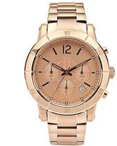 JLO by Jennifer Lopez Women's Stainless Steel Chronograph Watch