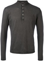 Massimo Alba buttoned sweatshirt - men - Cotton - L
