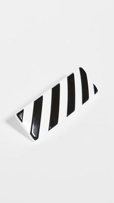 Off-White Diag Hair Clip