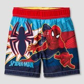 Spiderman Toddler Boys' Swim Trunk - Red