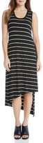 Karen Kane Women's Stevie Asymmetrical Stripe Tank Dress