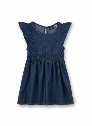 Sanetta Girl's Kleid Aus Webstoff Dress