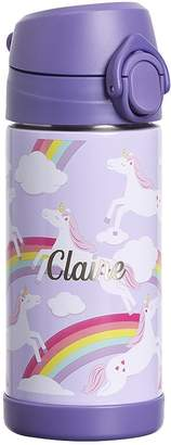Pottery Barn Kids Mackenzie Lavender Unicorn Regular Water Bottle & Food Storage
