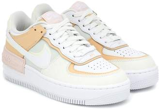 Nike Force 1 leather sneakers