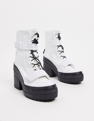converse boots grey
