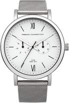 French Connection Men's FC1223SMA Harley Analog Display Quartz Silver Watch