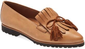 Paul Green Diana Kiltie Fringe Pointed Toe Loafer